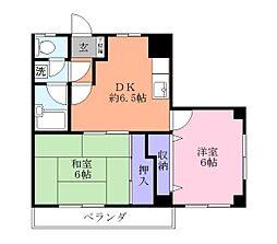 サンファーム習志野[3階]の間取り