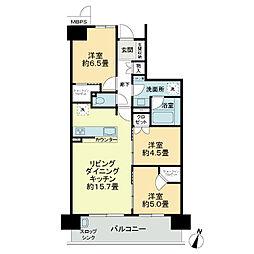 瓢箪山駅 14.5万円