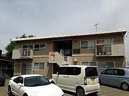 長野県須坂市大字須坂の賃貸アパートの外観