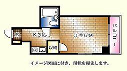 柴崎南千田ビル[204号室]の間取り