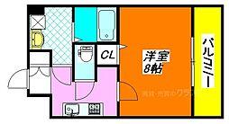 カーサセレノII 603号室[6階]の間取り