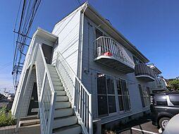 千葉県富里市日吉倉の賃貸アパートの外観