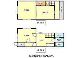 [一戸建] 兵庫県神戸市垂水区五色山7丁目 の賃貸【/】の間取り