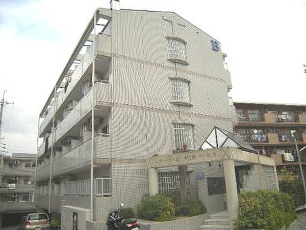 シティパレス東生駒P-3 B[4階]の外観