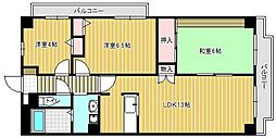 イーストハイム3[2階]の間取り