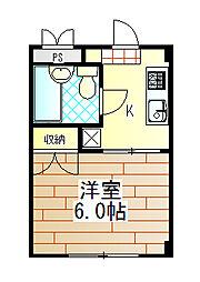 神奈川県厚木市寿町1丁目の賃貸マンションの間取り