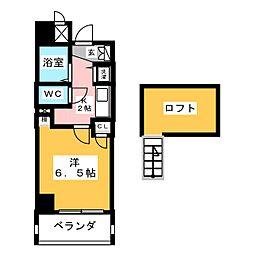パルティール鶴舞[10階]の間取り