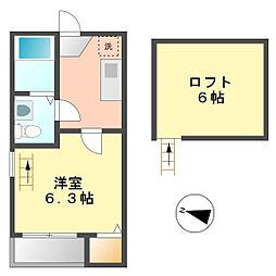 FELICEⅢ[1階]の間取り