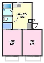 武州長瀬駅 3.7万円
