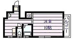 HOPEハウス[3階]の間取り