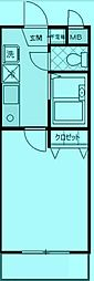 ユニテ溝の口参番館[1階]の間取り