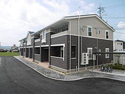 和歌山県岩出市中黒の賃貸アパートの外観
