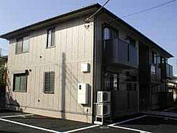 埼玉県川越市山田の賃貸アパートの外観