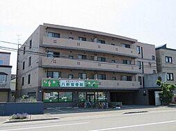 北海道札幌市西区八軒八条東5丁目の賃貸マンションの外観