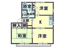フレグランス阪南E[1階]の外観