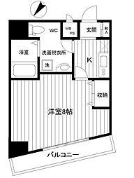 ラベール横濱[6階]の間取り