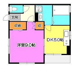須永邸[1階]の間取り