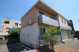 山口県下関市綾羅木本町2丁目の賃貸アパートの外観