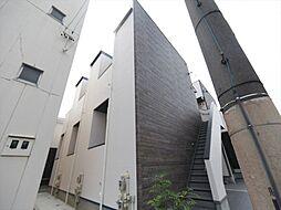 愛知県名古屋市中村区京田町3丁目の賃貸アパートの外観