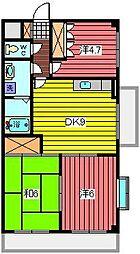 田口ビル[9階]の間取り