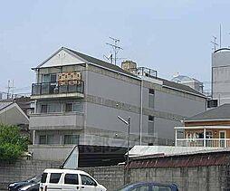 京都府京都市右京区太秦桂ケ原町の賃貸マンションの外観