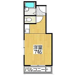 SAKIZO千丸ビル[501号室]の間取り