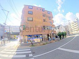 兵庫県川西市栄町の賃貸マンションの外観