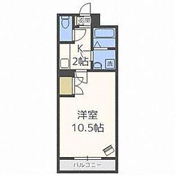 北海道札幌市白石区本通6丁目南の賃貸マンションの間取り