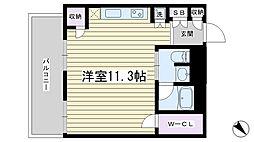 東京都北区堀船1丁目の賃貸マンションの間取り