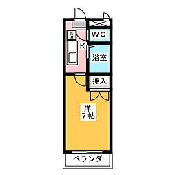 サンアップロイヤルガーデンPartII[2階]の間取り