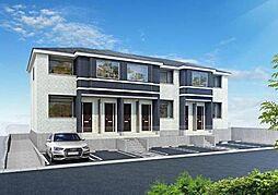 味間南1新築アパート[2階]の外観