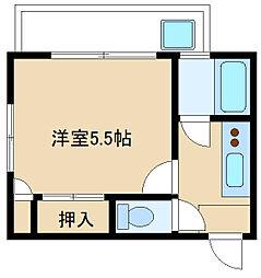 三田池袋北コーポ[104号室]の外観