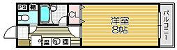 Collection鳳東町[408号室]の間取り