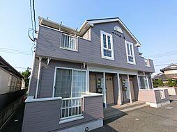 千葉県香取市牧野の賃貸アパートの外観