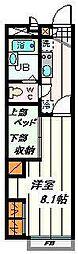 埼玉県さいたま市桜区栄和4丁目の賃貸アパートの間取り