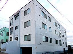 北海道小樽市住吉町の賃貸アパートの外観