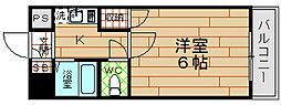 シーサイドヴィラ五番館[3階]の間取り