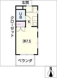 OAK・1[2階]の間取り