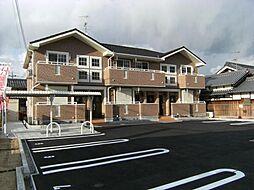 大阪府富田林市西板持町6丁目の賃貸アパートの外観