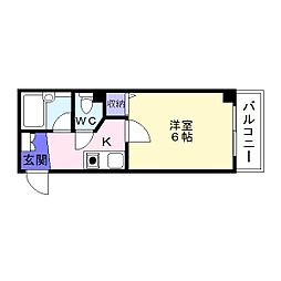 エルグリーンミキ[2階]の間取り