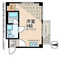 第2アベニューハウス[3階]の間取り