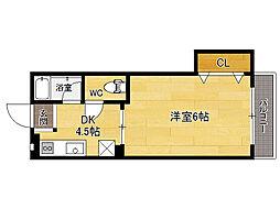 福岡県福岡市東区松島2丁目の賃貸アパートの間取り