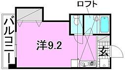 白石ハウス[203 号室号室]の間取り