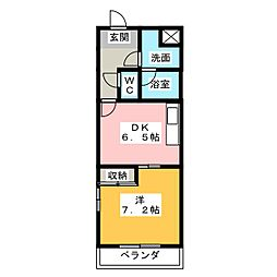 グランヒル7[3階]の間取り