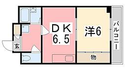 セントレージ[304号室]の間取り