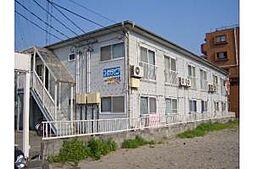 新潟県新潟市中央区鐙西2丁目の賃貸アパートの外観