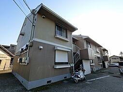 千葉県千葉市花見川区花園3丁目の賃貸アパートの外観