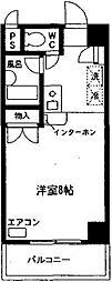 神奈川県相模原市南区古淵3の賃貸マンションの間取り