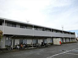 埼玉県北足立郡伊奈町内宿台2丁目の賃貸アパートの外観
