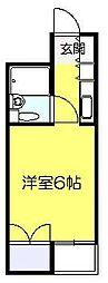 ベルトピア新松戸[1階]の間取り